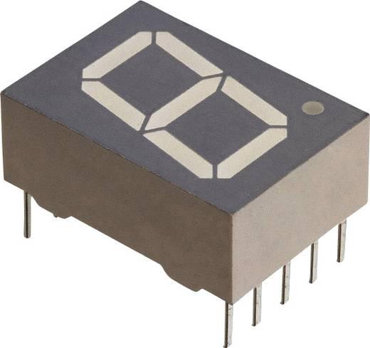 7-Segment-Anzeige Rot 13 mm 1.8 V Ziffernanzahl: 1 Vishay TDSR1350
