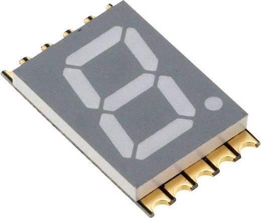 7-Segment-Anzeige Grün 10 mm 2 V Ziffernanzahl: 1 Vishay VDMG10A1