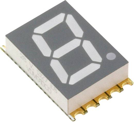 7-Segment-Anzeige Grün 10 mm 2 V Ziffernanzahl: 1 Vishay VDMG10C0