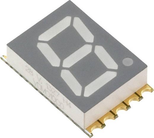 7-Segment-Anzeige Orange 10 mm 2 V Ziffernanzahl: 1 Vishay VDMO10C0