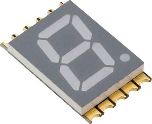 7-Segment-Anzeige Rot 10 mm 2 V Ziffernanzahl: 1 Vishay VDMR10A1