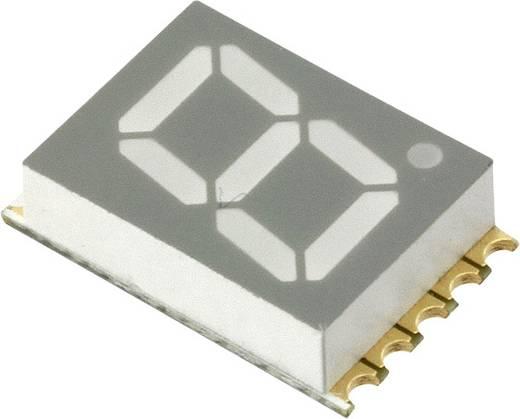 7-Segment-Anzeige Rot 10 mm 2 V Ziffernanzahl: 1 Vishay VDMR10C0