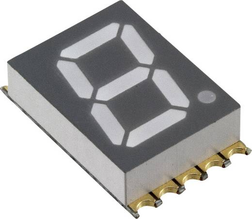 7-Segment-Anzeige Gelb 10 mm 2 V Ziffernanzahl: 1 Vishay VDMY10A0