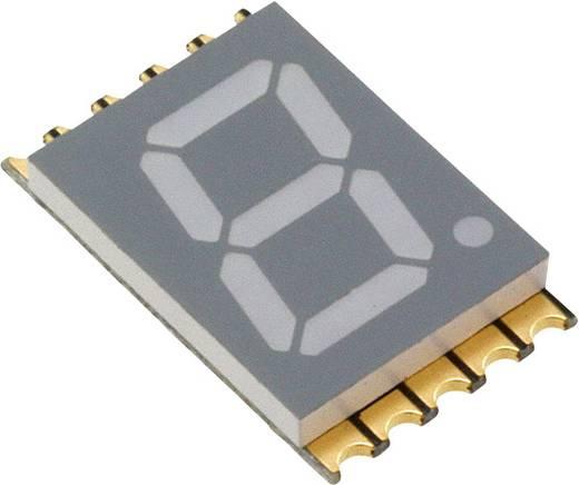7-Segment-Anzeige Gelb 10 mm 2 V Ziffernanzahl: 1 Vishay VDMY10A1