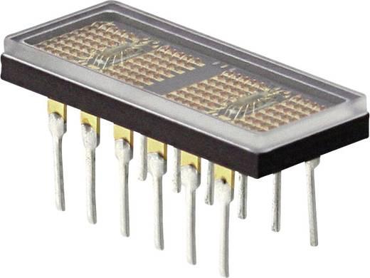 Punkt-Matrix-Anzeige Grün 4.87 mm Ziffernanzahl: 4 Broadcom HCMS-2353