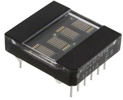 Punkt-Matrix-Anzeige Rot 3.61 mm Ziffernanzahl: 4 Broadcom HDLU-1414