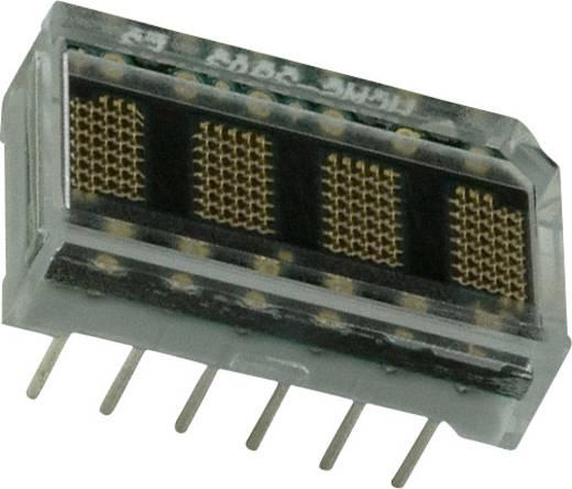 Punkt-Matrix-Anzeige Gelb 3.71 mm Ziffernanzahl: 4 Broadcom HCMS-2901