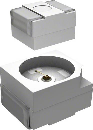 SMD-LED PLCC2 Rot 40 mcd 120 ° 20 mA 1.9 V Everlight Opto QTLP670C7TR