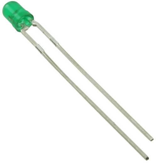 LED bedrahtet Grün Rund 3 mm 5 mcd 90 ° 30 mA 2.2 V Everlight Opto HLMP1503
