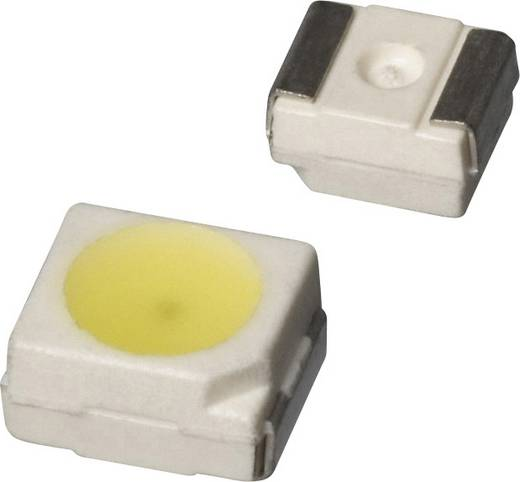 SMD-LED PLCC2 Kalt-Weiß 135 mcd 120 ° 20 mA 3.5 V Dialight 597-3901-207F