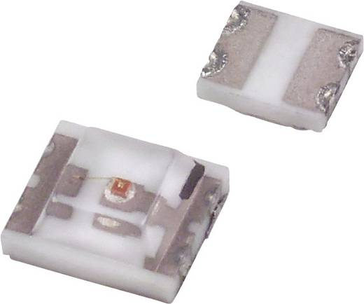 SMD-LED 1210 Rot 4 mcd 170 ° 20 mA 2 V Dialight 597-3001-102F