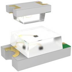 LED CMS 2012 Dialight 597-5411-407F jaune 11.7 mcd 150 ° 20 mA 2.1 V 1 pc(s)