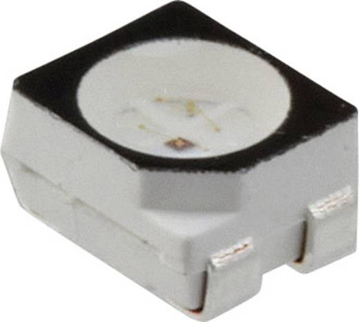 SMD-LED PLCC4 Grün, Rot 850 mcd, 350 mcd 120 ° 20 mA 3.15 V, 2 V Dialight 597-7752-007F