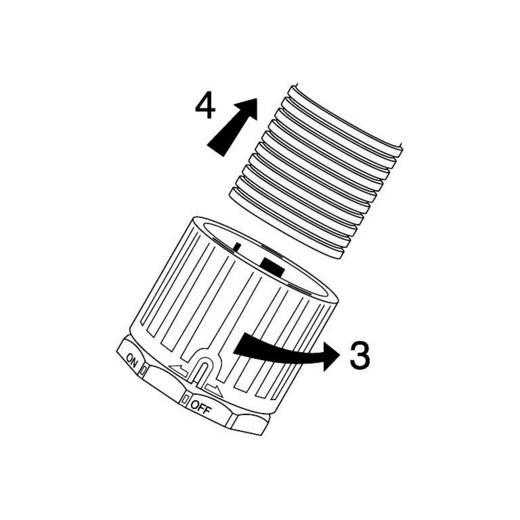 Schlauchverschraubung Schwarz M20 16.70 mm 90° LappKabel 55506525 SILVYN® FPAG-M20x1,5/2 90° 1 St.