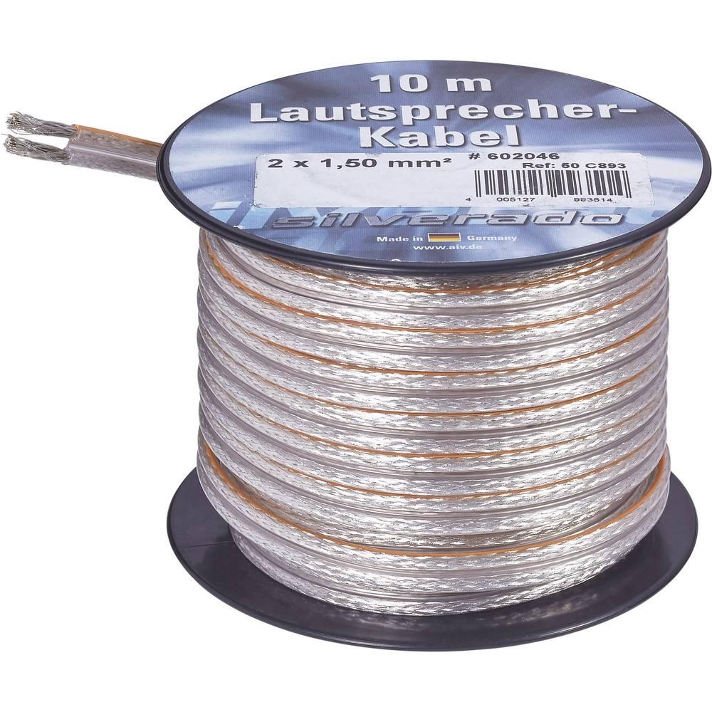 Lautsprecherkabel 2 x 4.20 mm² Silber AIV 23557L 10 m im Conrad ...