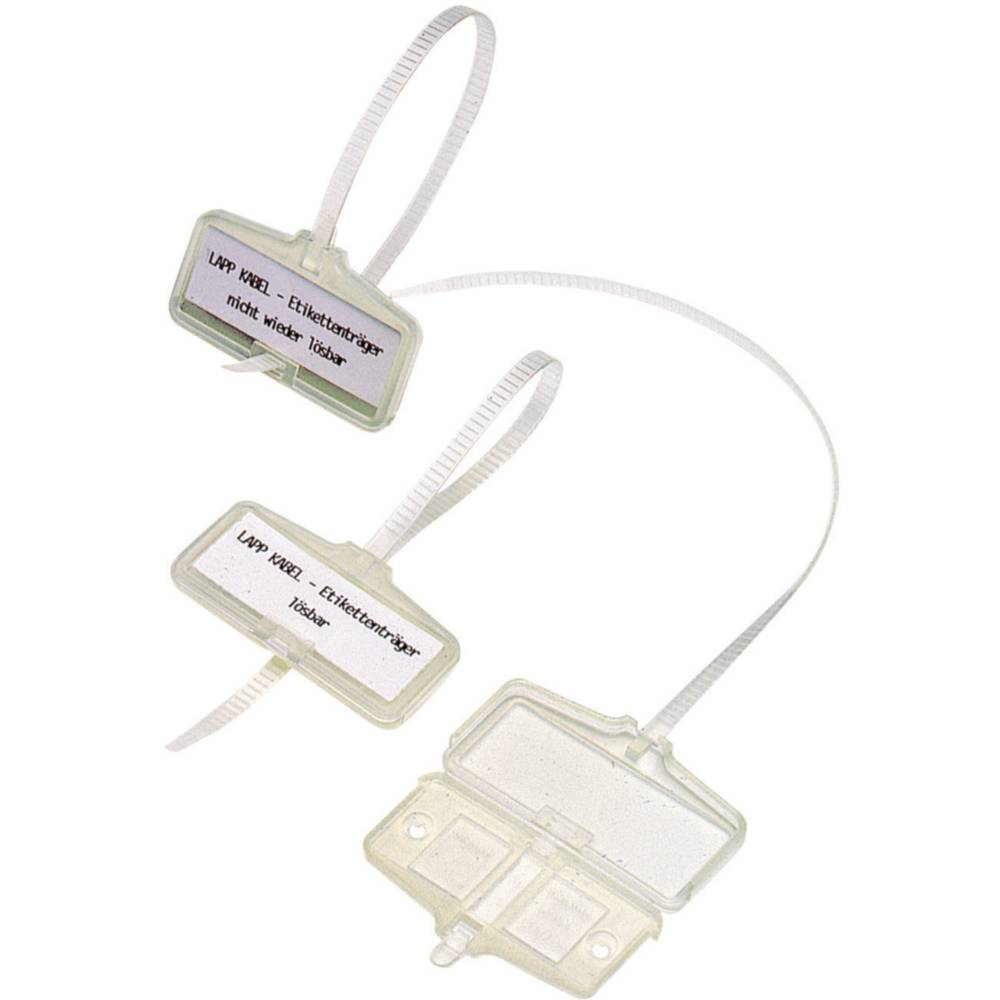 Zeichenträger mit Kabelbinder Montage-Art: Kabelbinder ...