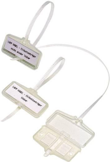 Zeichenträger mit Kabelbinder Montage-Art: Kabelbinder Beschriftungsfläche: 53 x 18 mm Natur LappKabel ETB 61742810 1