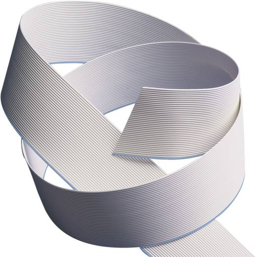 Flachbandkabel Rastermaß: 1.27 mm 10 x 0.08 mm² Grau 3M 7000057354 Meterware