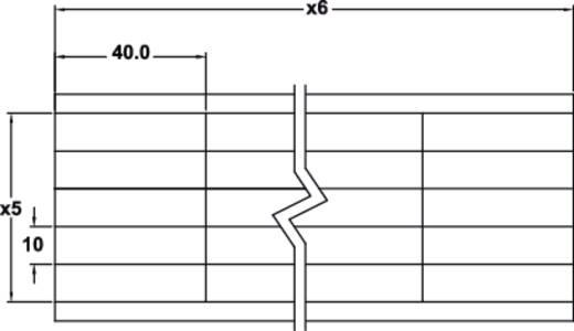 Kabel-Etikett 40 x 10 mm Farbe Beschriftungsfeld: Weiß KSS 602536 WM3 Anzahl Etiketten: 30