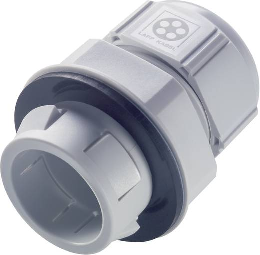 Kabelverschraubung M25 Polyamid Silber-Grau (RAL 7001) LappKabel SKINTOP® CLICK-R 25 1 St.