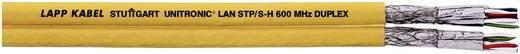 Netzwerkkabel CAT 7 S/FTP 4 x 2 x 0.25 mm² Gelb LappKabel 2170634 100 m