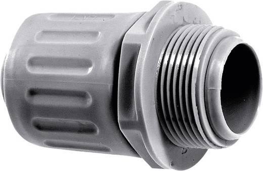 Schlauchverschraubung Silber-Grau (RAL 7001) M20 13 mm Gerade LappKabel 55501420 SILVYN® LKI-M 20x1,5 SGY 1 St.