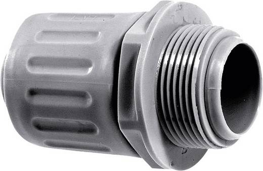 Schlauchverschraubung Silber-Grau (RAL 7001) M32 22 mm Gerade LappKabel 55501440 SILVYN® LKI-M 32x1,5 SGY 1 St.
