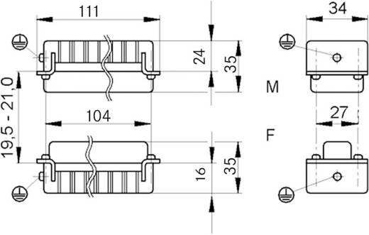 Stifteinsatz EPIC® H-D 64 11272000 LappKabel Gesamtpolzahl 64 + PE 1 St.