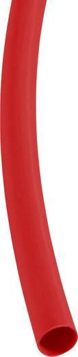 Schrumpfschlauch ohne Kleber Rot 6.40 mm Schrumpfrate:3:1 DSG Canusa 3290060303 Meterware