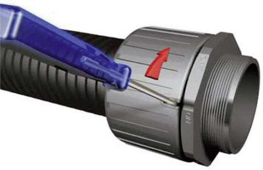Schutzschlauch HelaGuard PA6 dünnwandig HG-LW28 HellermannTyton Inhalt: Meterware