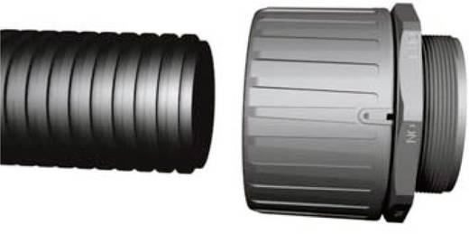 Wellrohr Schwarz 21.70 mm HellermannTyton 166-11504 HG-HI28 Meterware