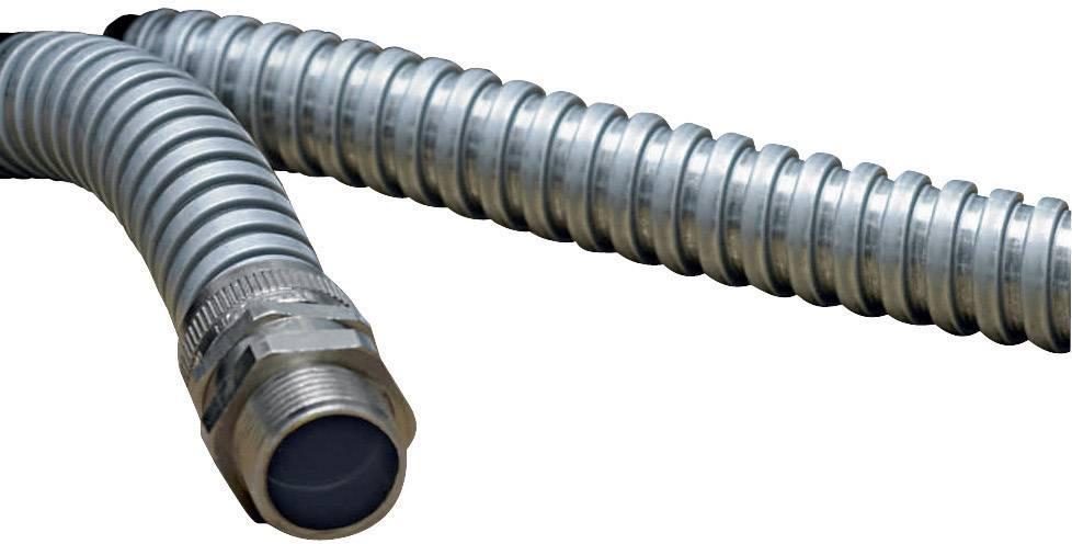 Gaine De Protection Acier Ø Intérieur: 6.80 Mm HellermannTyton SC10  166-30100 Métal Au Mètre