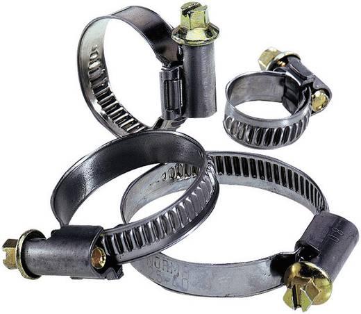 Schlauchschellen Sechskantschraubenkopf mit Schlitz Silber, Messing LappKabel 52003130 Silvyn SCH 10 - 16 S 1 St.