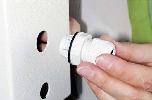 Kabelverschraubung M16 Polyamid Schwarz (RAL 9005) LappKabel SKINTOP® CLICK 16 1 St.