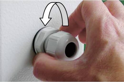 Kabelverschraubung M16 Polyamid Silber-Grau (RAL 7001) LappKabel SKINTOP® CLICK-R 16 1 St.