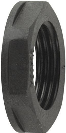 Gegenmutter Schwarz HellermannTyton 166-50136 ALPA-M25 1 St.