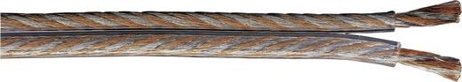 Lautsprecherkabel 2 x 2.50 mm² Transparent Hama 86615 Meterware