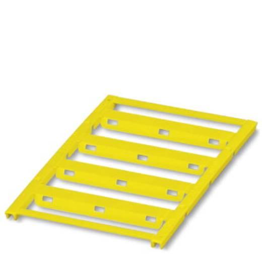 Leitermarkierer Montage-Art: Kabelbinder Beschriftungsfläche: 60 x 11 mm Passend für Serie Einzeldrähte Gelb Phoenix Con