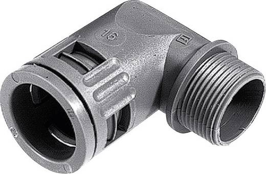 Schlauchverschraubung Schwarz M16 10 mm 90° LappKabel 55502835 SILVYN® KLICK 90° IP66 16x1,5/1 GY 1 St.