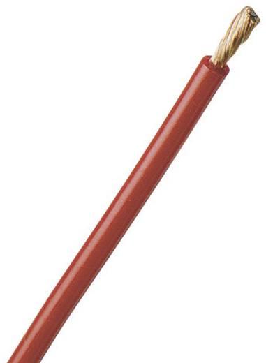 Litze FLEXI-S 1 x 6 mm² Rot Stäubli 60.7015-10022 Meterware