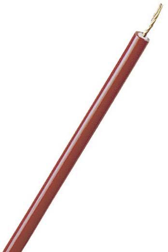 Litze FLEXI-2V 1 x 2.50 mm² Rot Stäubli 60.7033-00122 Meterware