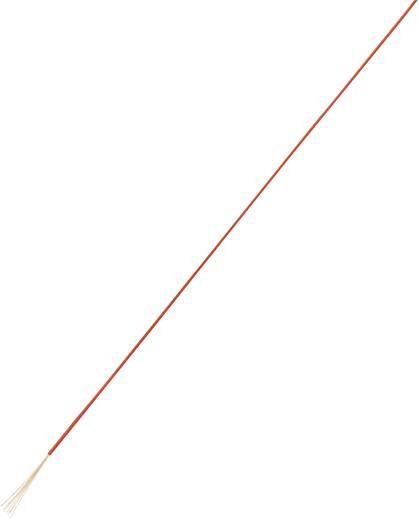 Litze 1 x 0.05 mm² Rot Conrad 93014c461 25 m