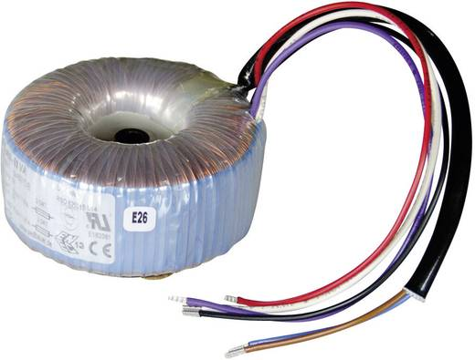Ringkerntransformator 1 x 230 V 2 x 15 V/AC 50 VA 1.67 A 825015 Sedlbauer