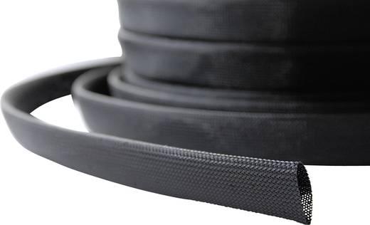 Geflechtschlauch Schwarz Polyamid 6.6 32 bis 44 mm LappKabel 61721265 SILVYN® BRAID PA6 NW 5 m
