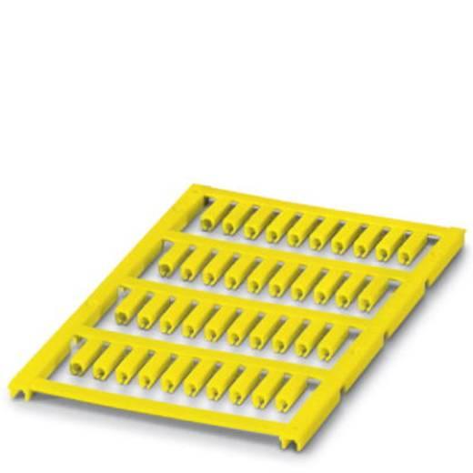 Leitermarkierer Montage-Art: aufclipsen Beschriftungsfläche: 12 x 3.50 mm Passend für Serie Einzeldrähte Gelb Phoenix Co