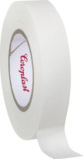 Gewebeklebeband Coroplast 44224 Weiß (L x B) 10 m x 15 mm Kautschuk Inhalt: 1 Rolle(n)