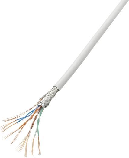 Netzwerkkabel CAT 5e SF/UTP 4 x 2 x 0.14 mm² Weiß Conrad Components SH1998C260 10 m