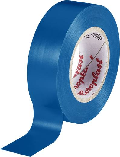 Isolierband Coroplast Blau (L x B) 10 m x 15 mm Acryl Inhalt: 1 Rolle(n)