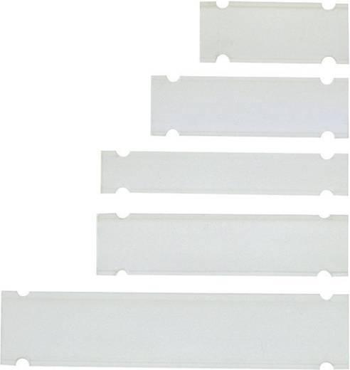 Zeichenträger Montageart: Kabelbinder Beschriftungsfläche: 58 x 10 mm Passend für Serie Universaleinsatz, Einzeldrähte Transparent LappKabel PTEF 10-58 83254964 1 St.