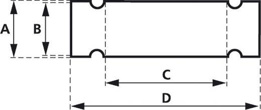 Zeichenträger mit Kabelbinder Montage-Art: Kabelbinder Beschriftungsfläche: 58 x 12 mm Passend für Serie Universaleinsat